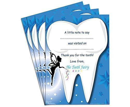 Childrens Tooth Fairy Certificates (Set of 4) by Dental Aesthetics ...